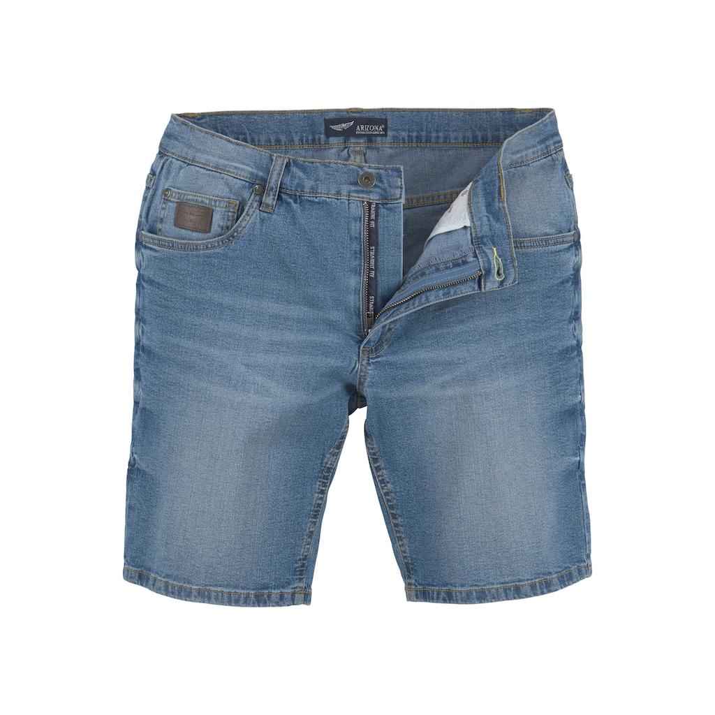 Arizona Jeansshorts, mit Waschung