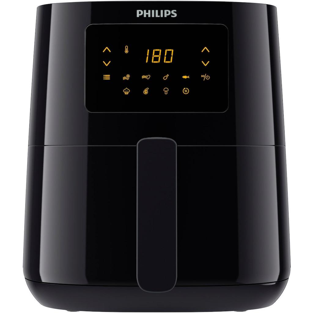 Philips Heissluftfritteuse »Essential HD9252/90«, 1400 W, Fassungsvermögen 0,8 kg