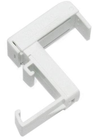 GARDINIA Sichtschutzbefestigung »Klemmträger, Kunststoff«, (2 St.), Serie... kaufen