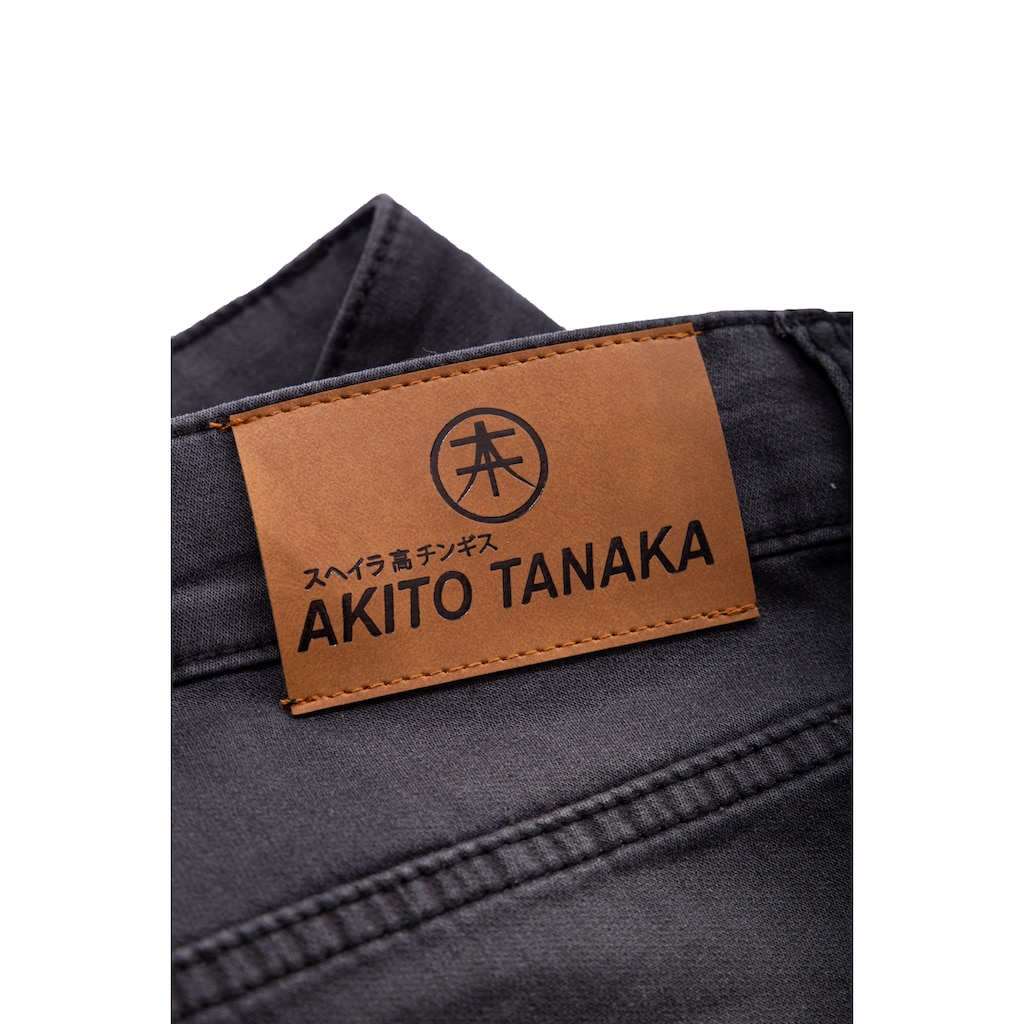 Akito Tanaka Sweatshorts, im Denim-Look