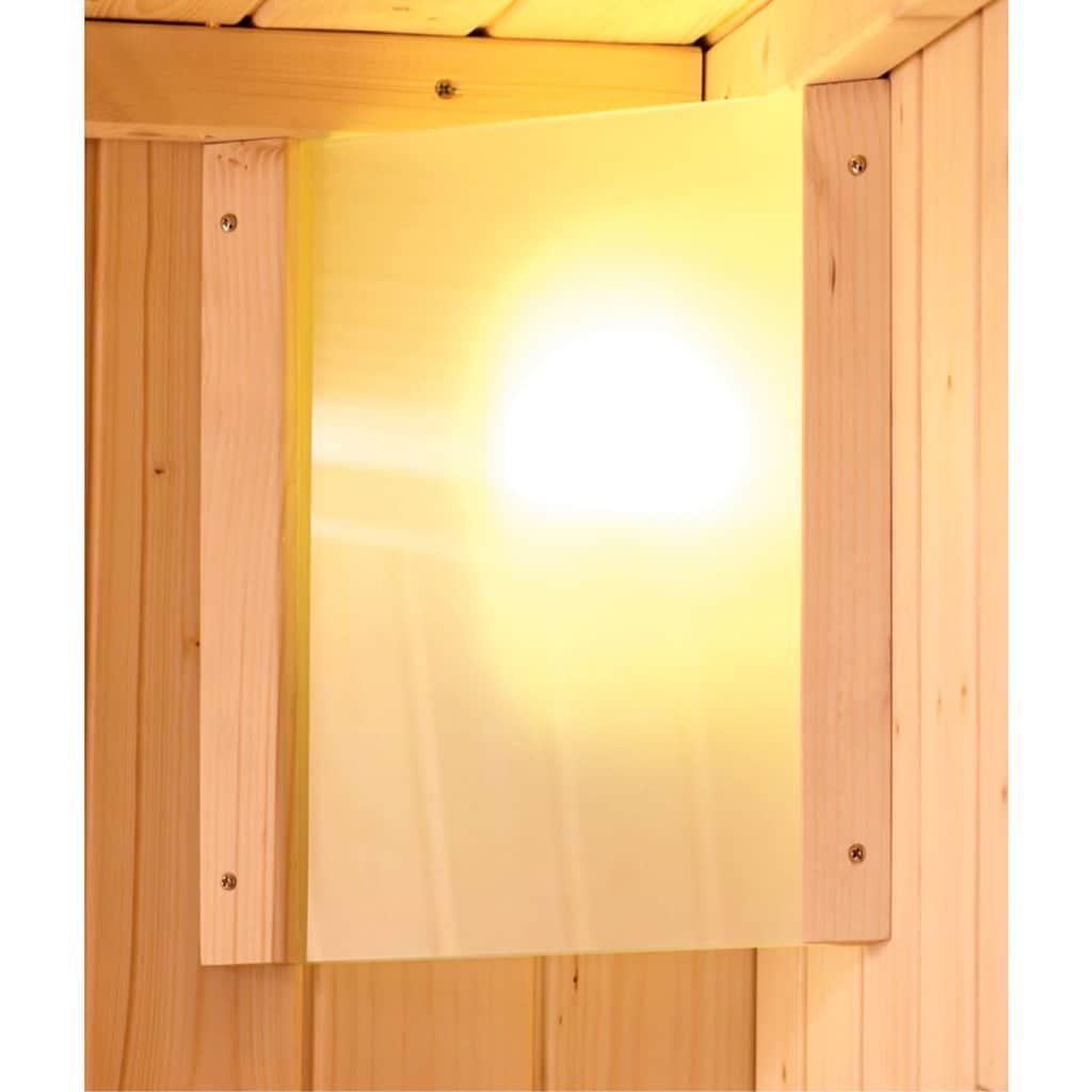 Karibu Sauna »Anni«, 4,5-kW-Ofen mit ext. Steuerung