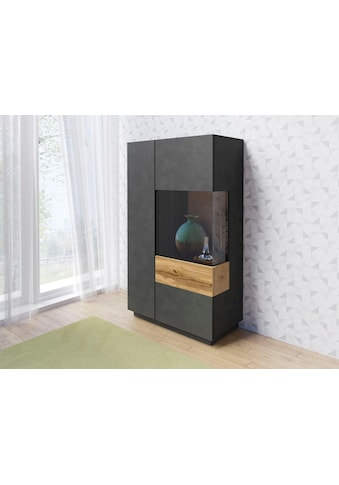 TRENDMANUFAKTUR Vitrine »SILKE«, Höhe 138,5 cm kaufen
