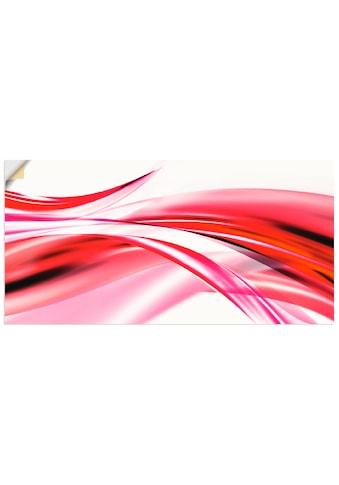 Artland Wandbild »Schöne Welle  -  Abstrakt« kaufen