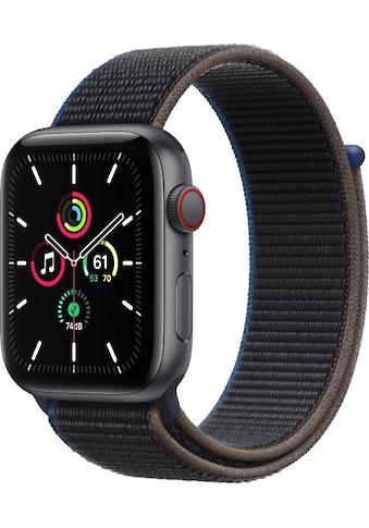 Apple Smartwatch »Apple Watch Series SE GPS + Cellular, Aluminium Gehäuse, 44 mm mit... kaufen