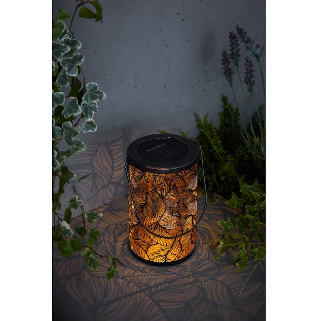Gartenleuchte »Solarleuchte Leaves«