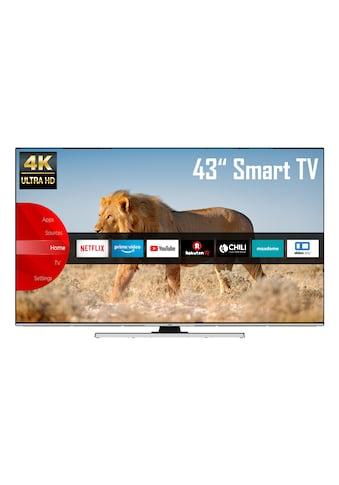 JVC LT - 43VU8055 LED - Fernseher (108 cm / (43 Zoll), 4K Ultra HD, Smart - TV kaufen
