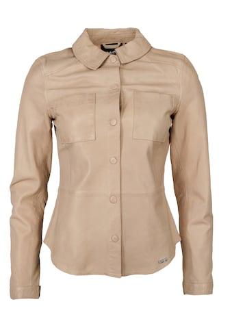 Maze Lederjacke »42020134«, mit Hemdkragen kaufen