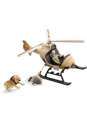 Schleich® Spielwelt »Wild Life, Helikopter Tierrettung (42476)«, Made in Europe kaufen