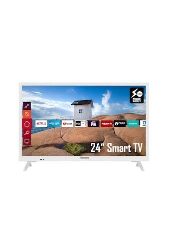 "Telefunken LED-Fernseher »XH24K550V-W«, 60 cm/24 "", HD ready, Smart-TV kaufen"