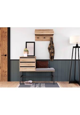 INOSIGN Garderoben-Set »Selune«, (Set, 2 tlg.), aus Holzwerkstoff und Metall kaufen