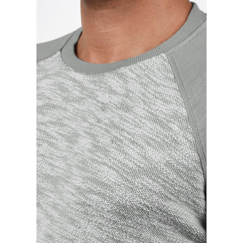 Solid Sweatshirt »Flocker«, Sweatpullover im Baseball-Look