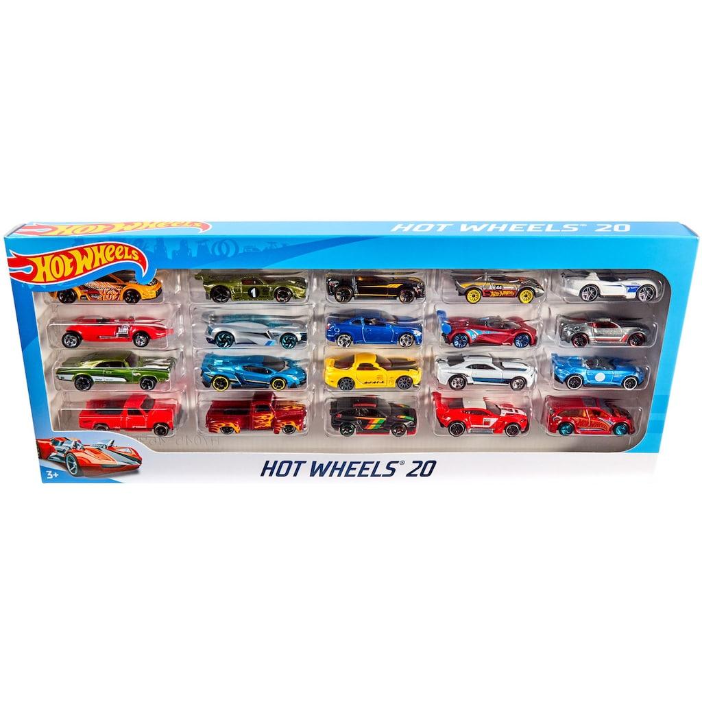 Hot Wheels Spielzeug-Auto »Hot Wheels® 20er Geschenkset«