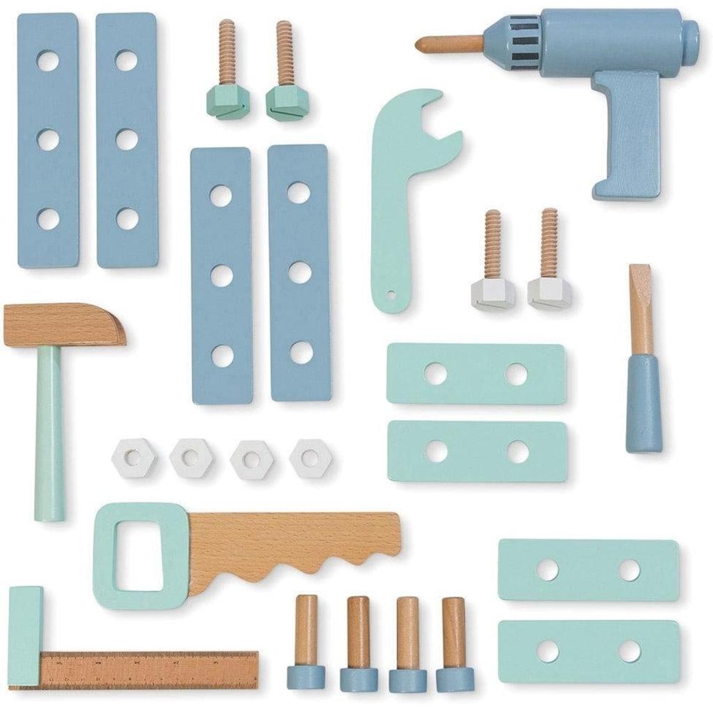 MUSTERKIND® Spielwerkzeugkoffer »Fagus, weiß«
