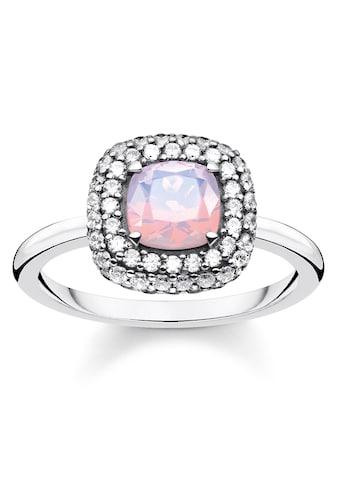 THOMAS SABO Silberring »Opal-Farbeffekt Rosa schimmernd, TR2287-347-7-52,... kaufen