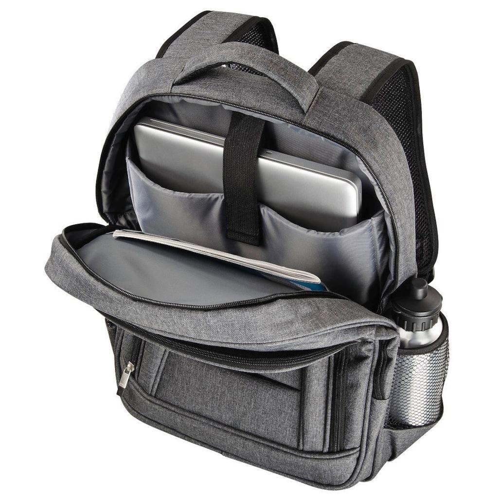 Hama Notebook Rucksack, Business, mit Laptopfach, 15,6 Zoll