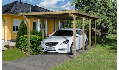 WEKA Einzelcarport »Leif 2«, BxT: 300x600 cm kaufen