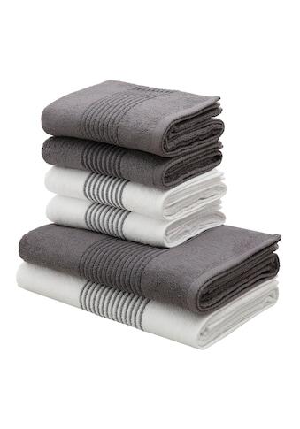 Handtuch Set, »Jassen«, Bruno Banani (Set) kaufen