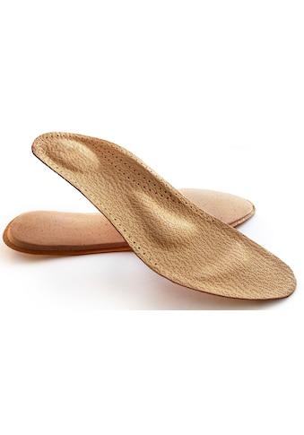 Fußgut Einlegesohlen, «Leder Komfort Einlage» kaufen