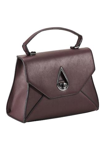 Tasche mit dekorativer Schließe kaufen