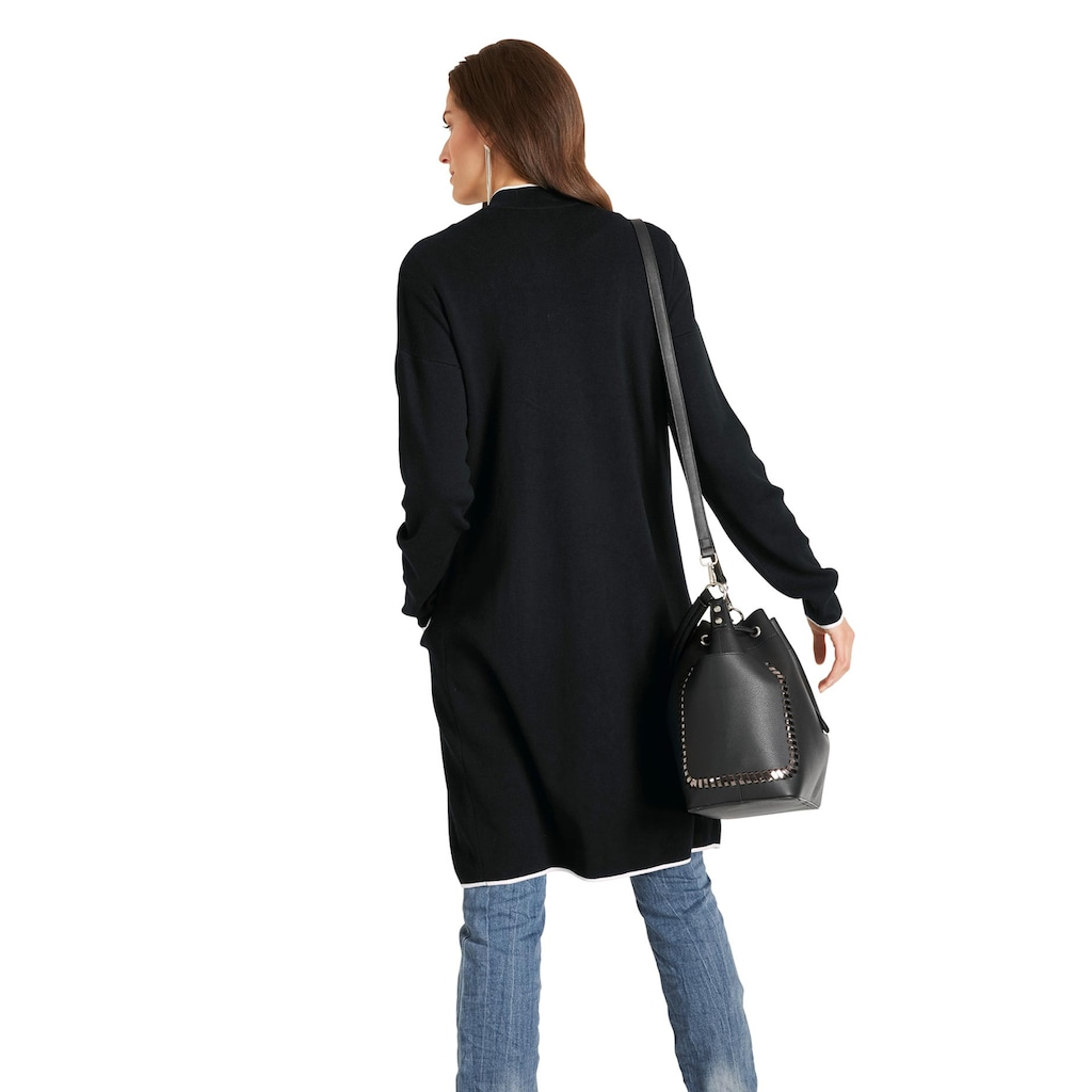 LINEA TESINI by Heine Strickmantel, mit aufgesetzten Taschen