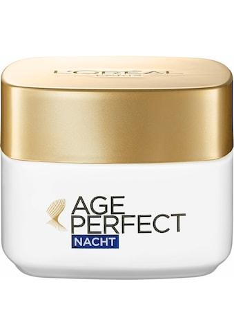 """L'ORÉAL PARIS Nachtcreme """"Age Perfect"""" kaufen"""