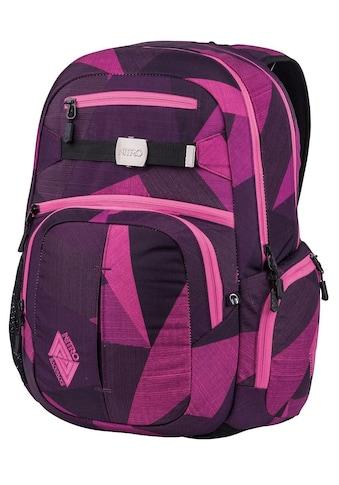 NITRO Schulrucksack »Hero, Fragments Purple«, mit Laptopfach kaufen