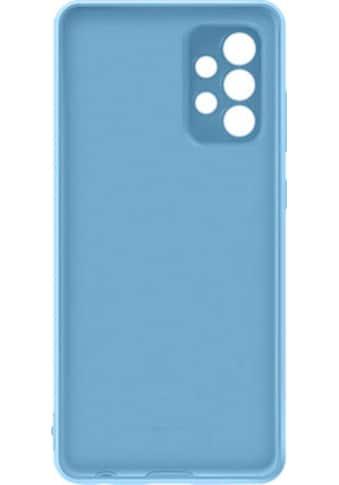 Samsung Smartphone-Hülle »A72 Silicone Cover Blue«, Samsung Galaxy A72, 17 cm (6,7 Zoll) kaufen