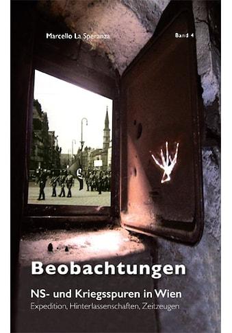 Buch »Beobachtungen / Marcello La Speranza« kaufen