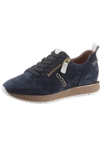 Gabor Keilsneaker, mit Kontrast-Ziernähten kaufen