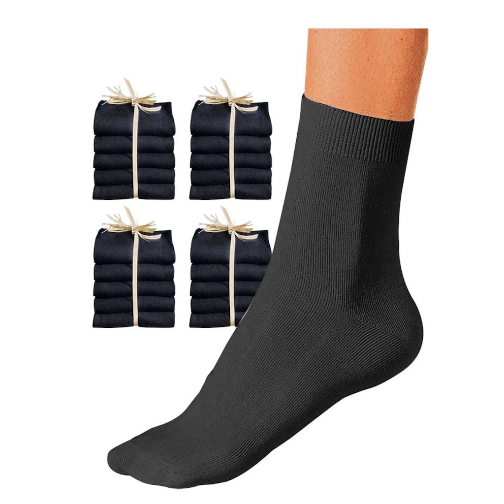 Go in Socken, (20 Paar), in der Großpackung