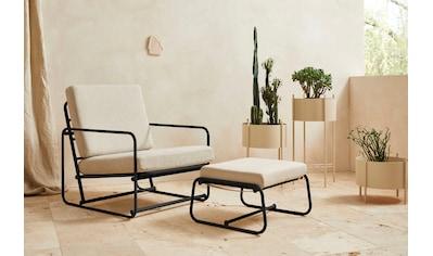 LeGer Home by Lena Gercke Loungesessel »Indira«, Sitz -und Rücken gepolstert, in 2... kaufen