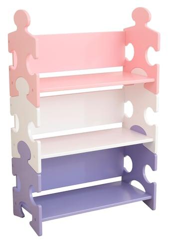 "KidKraft® Bücherregal ""Puzzle  -  Pastell"" kaufen"