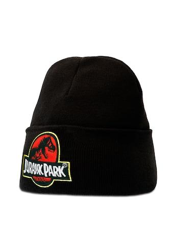 LOGOSHIRT Strickmütze »Jurassic Park«, mit lizenziertem Originaldesign kaufen