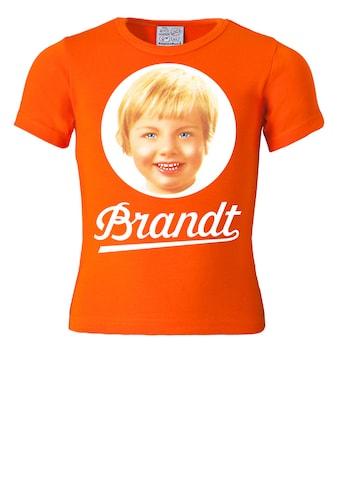 LOGOSHIRT T-Shirt »Brandt Zwieback«, mit Retro-Print kaufen