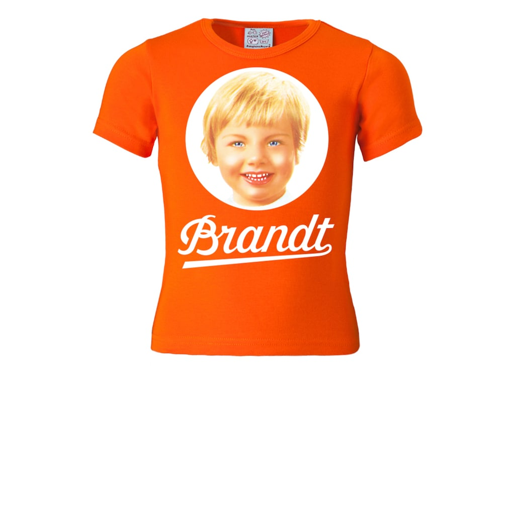 LOGOSHIRT T-Shirt »Brandt Zwieback«, mit Retro-Print
