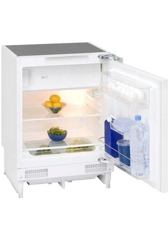 exquisit Einbaukühlschrank, 82 cm hoch, 59 cm breit kaufen