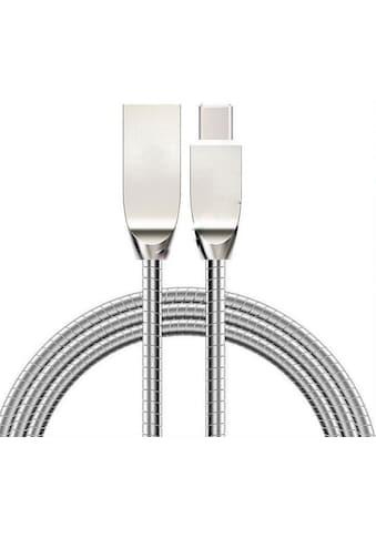 Beafon USB-Kabel »Daten- Ladekabel Metall mit USB Typ-C«, USB-C, USB Typ A, 100 cm,... kaufen