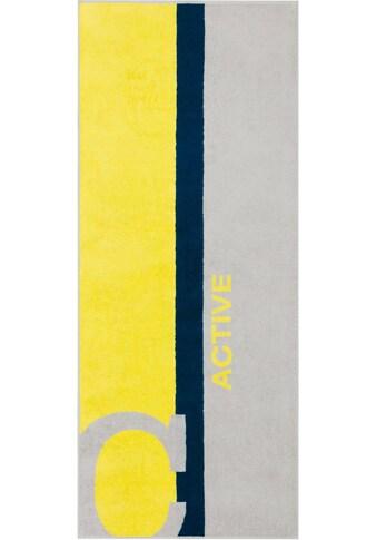 Cawö Sporthandtuch »Active«, (1 St.), mit Streifen kaufen