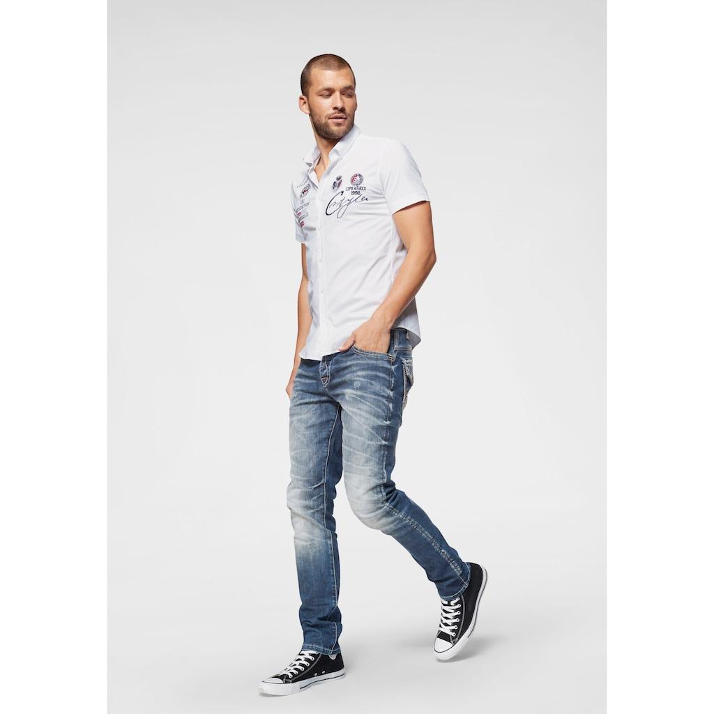 Cipo & Baxx Kurzarmhemd »Satisfaction«
