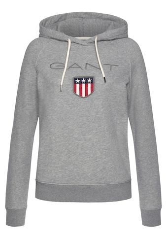 Gant Sweatshirt, mit großer Label-Applikation vorne kaufen