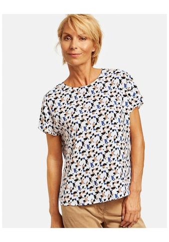 GERRY WEBER Klassische Bluse »Blusenshirt mit grafischen Punkten« kaufen