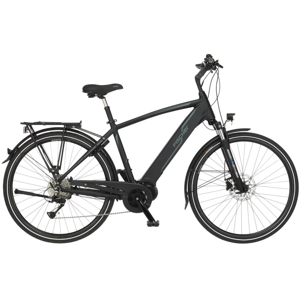 FISCHER Fahrräder E-Bike »VIATOR H 4.0i - 504«, 9 Gang, Shimano, Acera, Mittelmotor 250 W