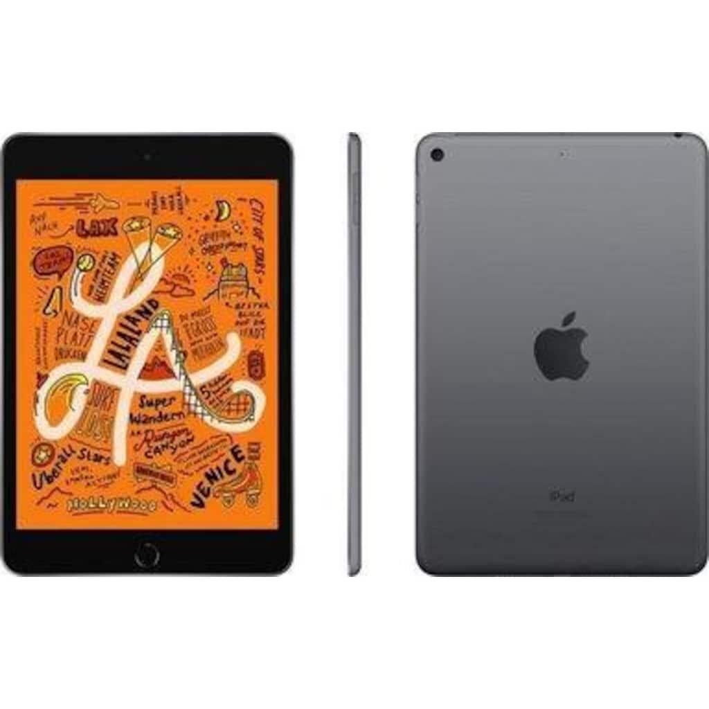"""Apple Tablet »iPad mini (2019), 7,9"""", WiFi + Cellular, 8 GB RAM, 256 GB Speicherplatz«"""