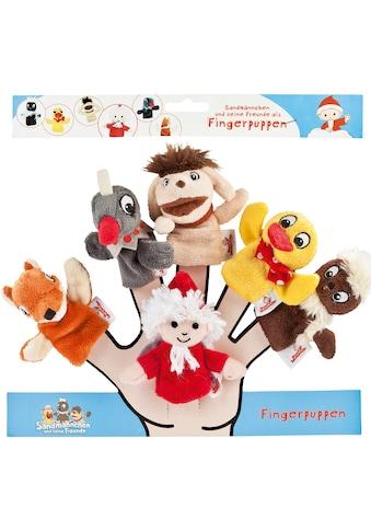Heunec® Fingerpuppe »Sandmann Fingerpuppen 6er-Set«, (Set, 6 tlg.) kaufen