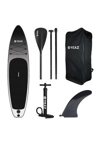 YEAZ Inflatable SUP-Board »BLACK SANDS BEACH - EXOTREK -«, (5 tlg.), inkl. Alu-Paddel,... kaufen