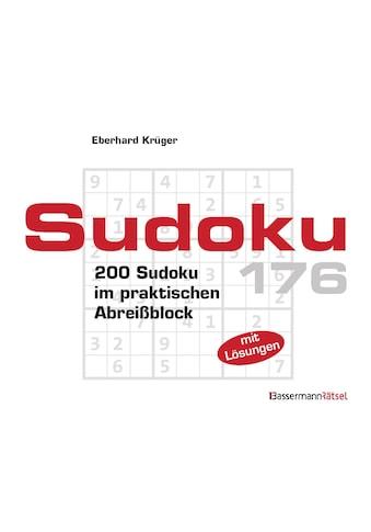 Buch »Sudoku Block 176 (5 Exemplare à 2,99 EUR) / Eberhard Krüger« kaufen