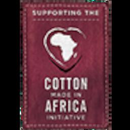 Unterstützt Cotton made in Africa