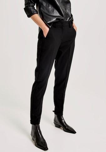 OPUS Bügelfaltenhose »Merit«, mit tonigem Galon-Streifen seitlich kaufen