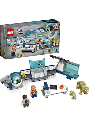 LEGO® Konstruktionsspielsteine »Dr. Wus Labor: Ausbruch der Baby-Dinosaurier (75939),... kaufen