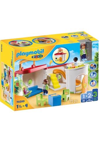 """Playmobil® Konstruktions - Spielset """"Mein Mitnehm - Kindergarten (70399), Playmobil 1 - 2 - 3"""" kaufen"""